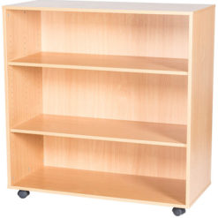 12-High-Triple-Open-Mobile-or-Static-Classroom-Storage-Unit-with-Shelf-1107mm-High-Nobis-Education-Furniture