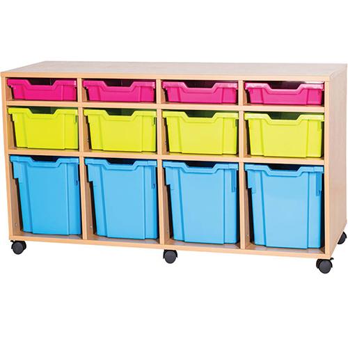 12-Mixed-Tray-Quad-Bay-Classroom-Storage-Unit-Mobile-or-Static-Nobis-Education-Furniture