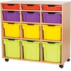 12-Mixed-Triple Bay-Classroom-Storage-Double-Bay-Unit-Nobis-Education-Furniture