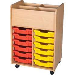 12-Tray-Double-Bay-Mobile-School-Book-Trolley-Nobis-Education-Furniture