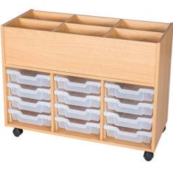 12-Tray-Mobile-School-Book-Trolley-Nobis-Education-Furniture