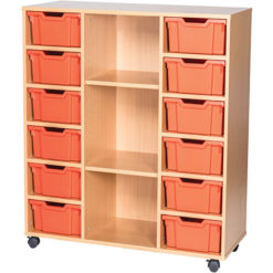 12-Tray-Triple-Bay-Deep-Tray-Classroom-Storage-Unit-Centre-Shelf-Nobis-Education-Furniture