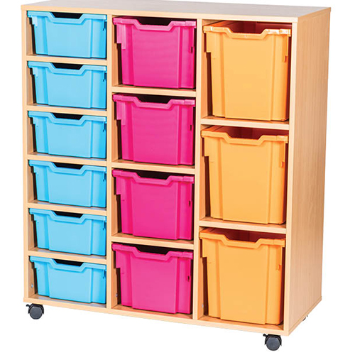 13-Mixed-Tray-Triple-Bay-Classroom-Storage-Unit-Centre-Shelf-Nobis-Education-Furniture
