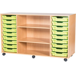 18-Tray-Quad-Bay-Classroom-Storage-Unit-With-Centre-Shelves-Nobis-Education-Furniture