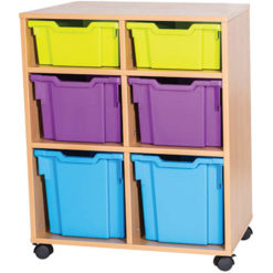 2-Deep-2-Extra-Deep-2-Jumbo-Tray-Mobile-Static-Unit-Single-Bay-Nobis-Education-furniture