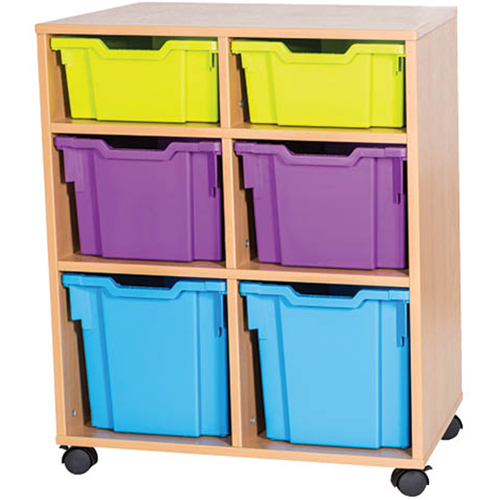 2-Deep-2-Extra-Deep-2-Jumbo-Tray-Mobile-Static-Unit-Single-Bay-Nobis-Education-furniture