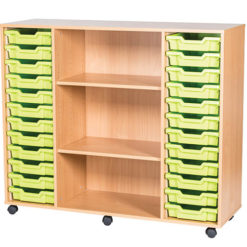 24-Tray-Quad-Bay-Classroom-Storage-Unit-With-Centre-Shelves-Nobis-Education-Furniture