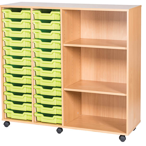 24-Tray-Triple-Bay-Classroom-Storage-Unit-With-End-Shelves-Nobis-Education-Furniture