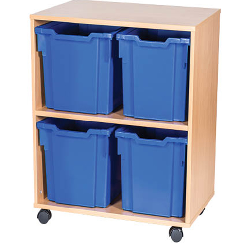 4-Jumbo-Tray-Double-Bay-Mobile-or-Static-Classroom-Storage-Unit-Nobis-Education-Furniture