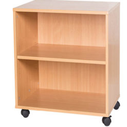 5-High-Double-Open-Mobile-or-Static-Classroom-Storage-Unit-with-Shelf-533mm-High-Nobis-Education-Furniture