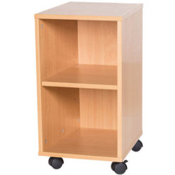 5-High-Single-Open-Mobile-or-Static-Classroom-Storage-Unit-with-Shelf-533mm-High-Nobis-Education-Furniture