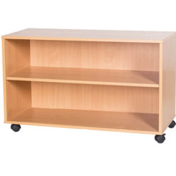 5-High-Triple-Open-Mobile-or-Static-Classroom-Storage-Unit-with-Shelf-533mm-High-Nobis-Education-Furniture