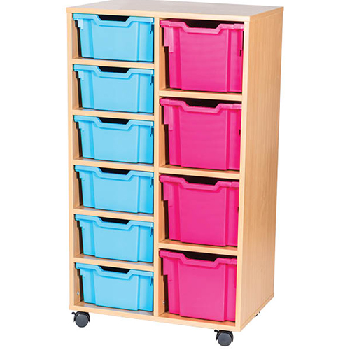 6-Deep-4-Extra-Deep-Tray-Classroom-Storage-Double-Bay-Unit-Nobis-Education-Furniture
