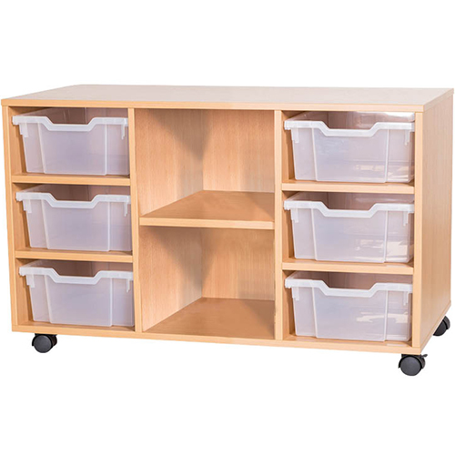 6-Tray-Quad-Bay-Classroom-Storage-Unit-Centre-Shelf-Nobis-Education-Furniture