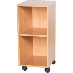 6-High-Single-Open-Mobile-or-Static-Classroom-Storage-Unit-with-Shelf-615mm-High-Nobis-Education-Furniture