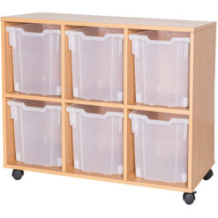 6-Jumbo-Tray-Triple-Bay-Mobile-or-Static-Classroom-Storage-Unit-Nobis-Education-Furniture