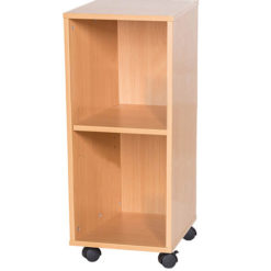 7-High-Single-Open-Mobile-or-Static-Classroom-Storage-Unit-with-Shelf-697mm-High-Nobis-Education-Furniture