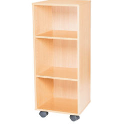 8-High-Single-Open-Mobile-or-Static-Classroom-Storage-Unit-with-Shelf-799mm-High-Nobis-Education-Furniture