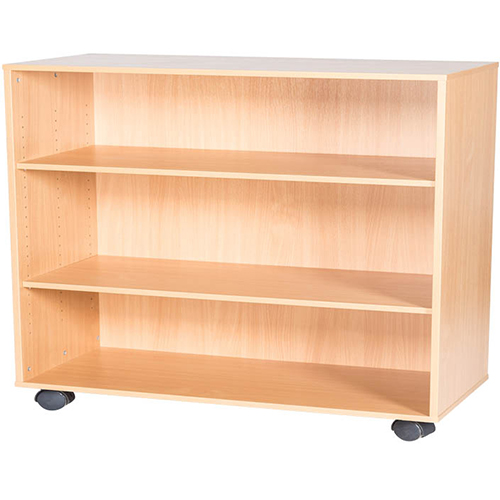 8-High-Triple-Open-Mobile-or-Static-Classroom-Storage-Unit-with-Shelf-779mm-High-Nobis-Education-Furniture