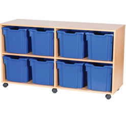 8-Jumbo-Tray-Quad-Bay-Mobile-or-Static-Classroom-Storage-Unit-Nobis-Education-Furniture