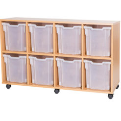 8-Jumbo-Tray-Quad-Bay-Mobile-or-Static-Fixed-Shelf-Classroom-Storage-Unit-Nobis-Education-Furniture