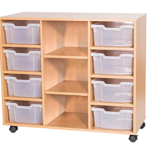 8-Tray-Triple-Bay-Centre-Shelves-Classroom-Storage-Unit-Nobis-Education-Furniture