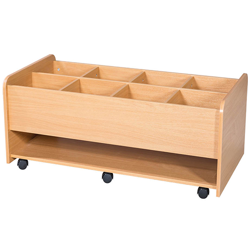 8-Well-Mobile-Extra-Wide-School-Library-Kinderbox-with-Shelf-Nobis-Education-Furniture