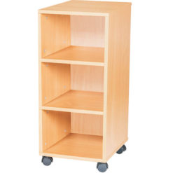 9-High-Single-Open-Mobile-or-Static-Classroom-Storage-Unit-with-Shelf-861mm-High-Nobis-Education-Furniture