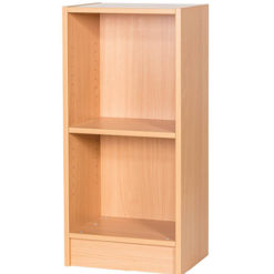 Britannia-Narrow-Library-Bookcase-900mm-High-Nobis-Eductaion-Furniture