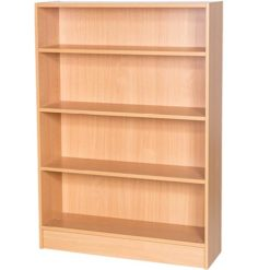 Britannia-1000mm-Wide-Library-Bookcase-1200mm-High-Nobis-Education-Furniture