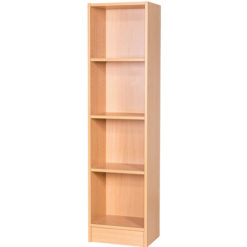 Britannia-Narrow-Library-Bookcase-1500mm-High-Nobis-Education-Furniture
