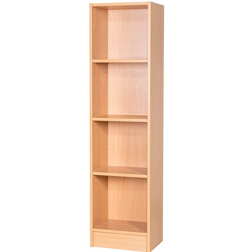 Britannia-Narrow-Library-Bookcase-1500mm-High-Nobis-Education-Furniture