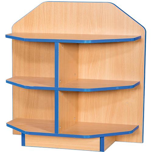 Folio-Premium-650mm-Wide-750mm-High-School-Library-End-Cap-Bookcase-Nobis-Education-Furniture