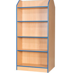 Folio-Premium-750mm-Wide-1800mm-High-School-Library-Double-Sided-Bookcase-Nobis-Education-Furniture