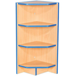 Folio-Premium-750mm-Wide-Flat-Top-External-Corner-School-Library-Bookcase-750mm-High-Nobis-Eductaion-Furniture