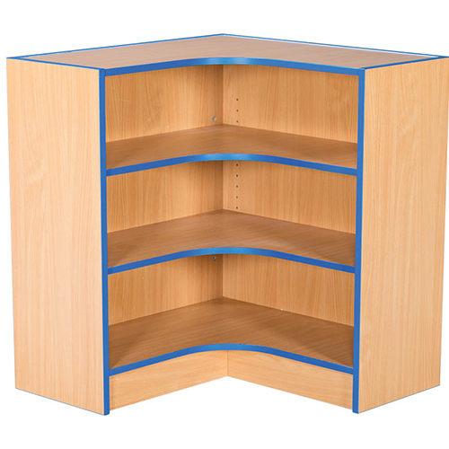 Folio-Premium-750mm-Wide-Flat-Top-Internal-Corner-School-Library-Bookcase-750mm-High-Nobis-Eductaion-Furniture