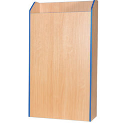Folio-Premium-750mm-Wide-School-Library-Blanking-Unit-1800mm-High-Nobis-Education-Furniture
