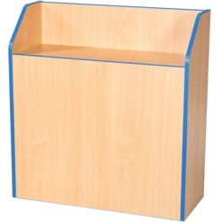 Folio-Premium-750mm-Wide-School-Library-Blanking-Unit-750mm-to-1800mm-High-Nobis-Education-Furniture