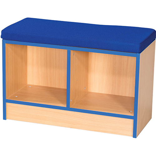 Folio-Premium-Double-School-Library-Book-Storage-Bench-with-Cushion-500mm-High-Nobis-Education-Furniture