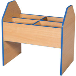Folio-Premium-High-School-Library-Mobile-Book-Browser-700mm-High-Nobis-Education-Furniture