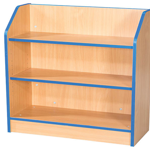 Folio-Premium-School-Library-Bookcase-750mm-Wide-750mm-High-Nobis-Education-Furniture
