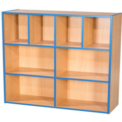 KubbyKurve-Three-Tier-4-+-2-+-2-School-Library-Shelf-Unit-1040mm-High-1000mm-Wide-Nobis-Education-Furniture