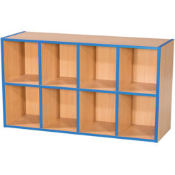 KubbyKurve-Two-Tier-4-+-4-School-Library-Shelf-Unit-700mm-High-1000mm-Wide-Nobis-Education-Furniture