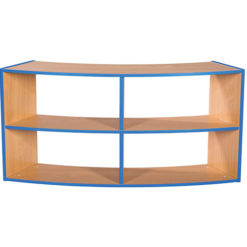 KubbyKurve-Two-Tier-Curved-Open-Back-2-+-2-School-Library-Shelf-Unit-700mm-High-1200mm-Wide-Nobis-Education-Furniture