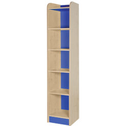 classroom single storage cube blue 2000mm