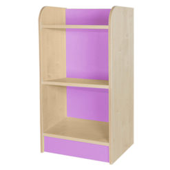 Classroom single storage cube lilac 1000mm