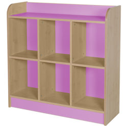 classroom triple storage cube lilac 1000mm