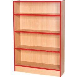Sovereign-1000mm-Wide-Library-Bookcase-1200mm-High-Nobis-Education-Furniture