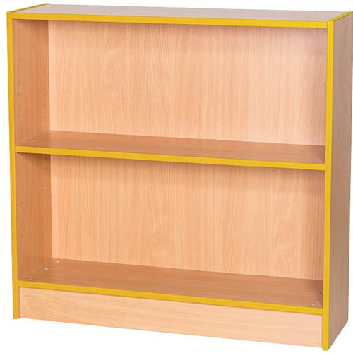 Sovereign-1000mm-Wide-Library-Bookcase-900mm-High-Nobis-Education-Furniture