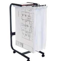The-Planhorse-A1-1000-Paper-Management-System-Mobile-Trolley-Nobis-Education-Furniture